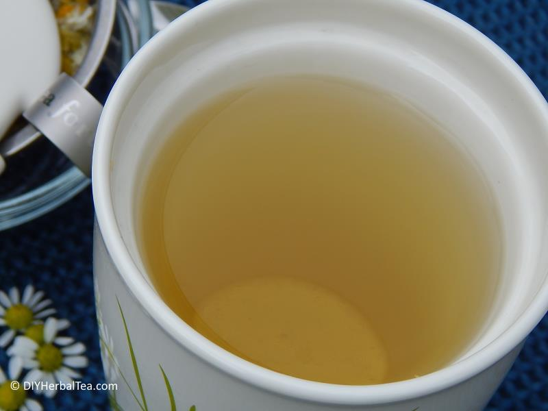 Homemade Chamomile tea